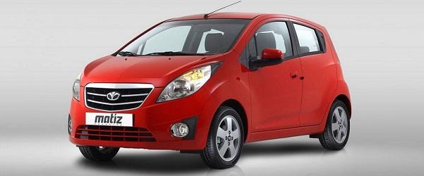Маленькие машины для женщин Daewoo Matiz