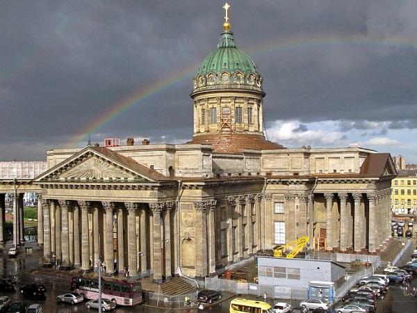 Казанский собор, Петербург