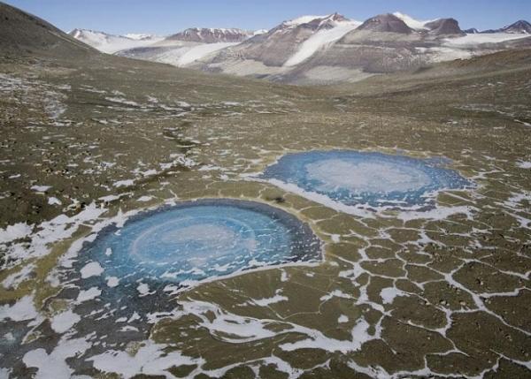 Антарктида - оазис Бангера