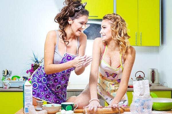 Фотосессия на кухне