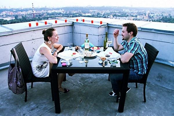 Романтический вечер в авантюрном стиле