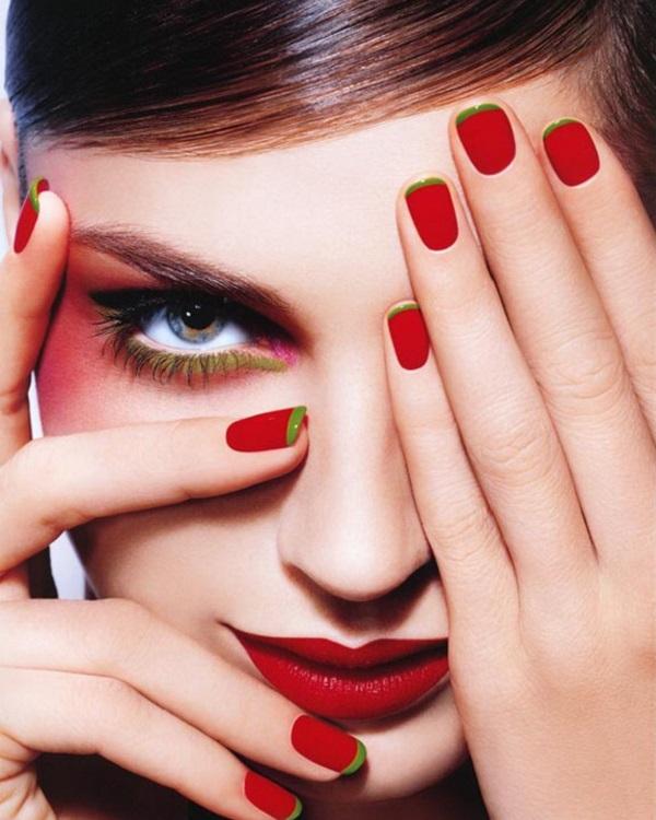 Французький манікюр на коротких нігтях в 2017 році