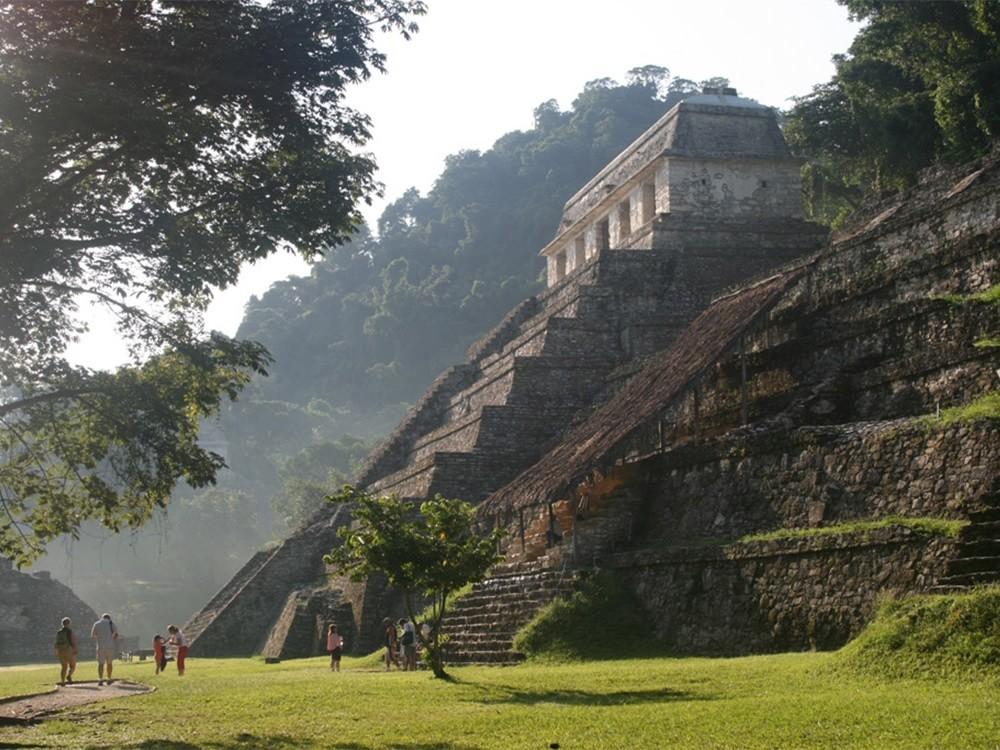 Пирамиды культуры майя