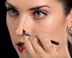Как визуально уменьшить длинный нос