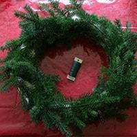 Рождественский венок своими руками - шаг 3