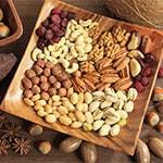 Орехи, содержащие железо