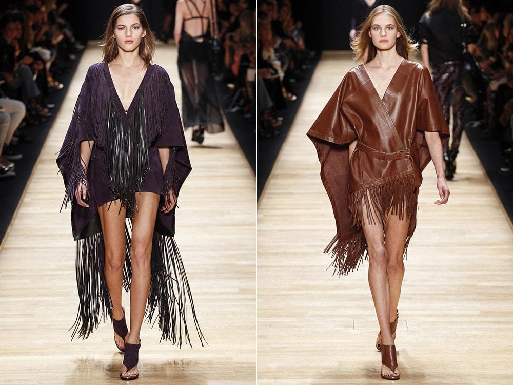 Платья с бахромой: Barbara Bui