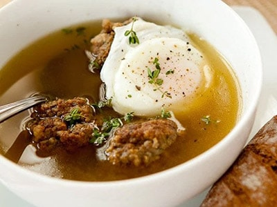 рецепт супа пашот из диеты дюкана