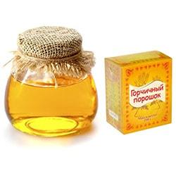 Обертывания из меда и горчицы