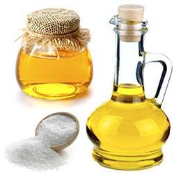 Обертывания с медом и морской солью