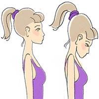 Разминка для позвоночника и шеи, упражнение 1