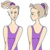 Разминка для позвоночника и шеи, упражнение 3