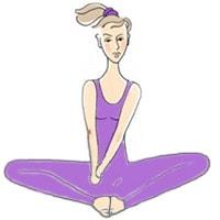 Разминка ног, упражнение 2