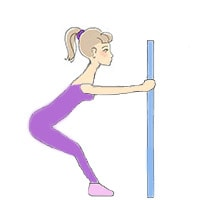 Разминка верхней части корпуса, упражнение 1