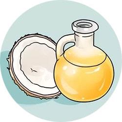 Кокосовое масло для отбеливания зубов