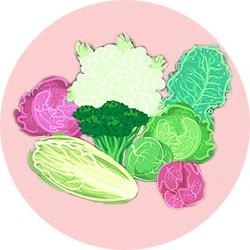 Недостаточное потребление листовых овощей