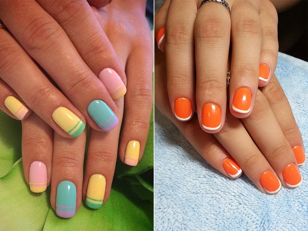 Гель лак малиновый на ногтях дизайн