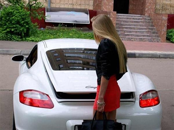 Машина Юлии Щаулиной