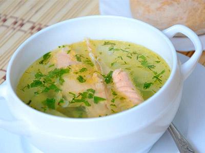 Питательный рыбный суп