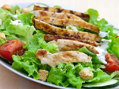 Салат белковый