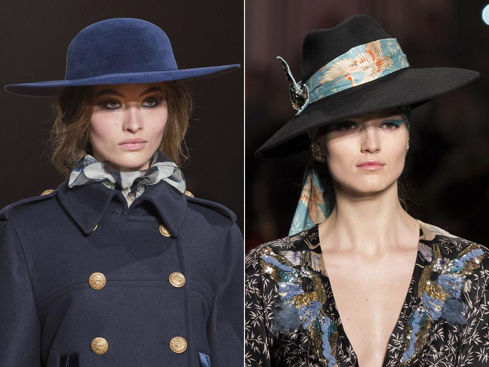 Широкополые шляпы осень-зима 2017-2018
