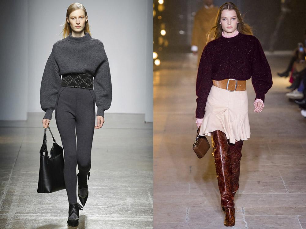 Осень-зима 2017-2018 модные тенденции вязание 985