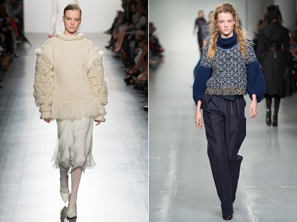 Осень-зима 2017-2018 модные тенденции вязание 363