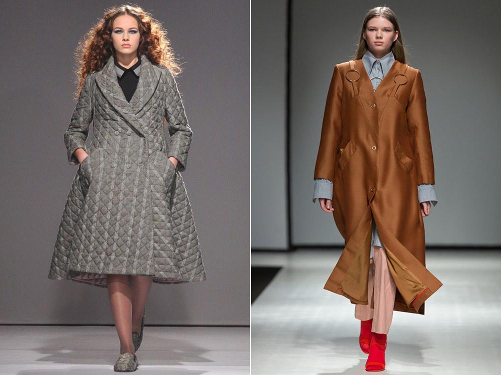 Пальто для полных осень-зима 2017-2018