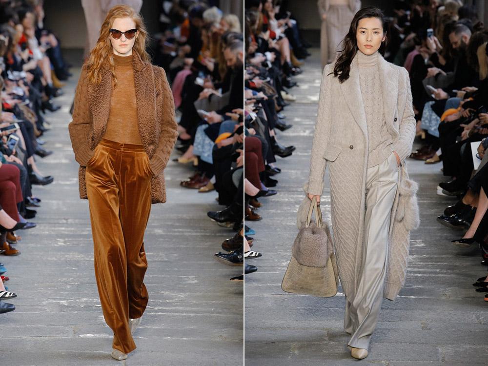 Осень-зима 2017-2018 модные тенденции вязание 377