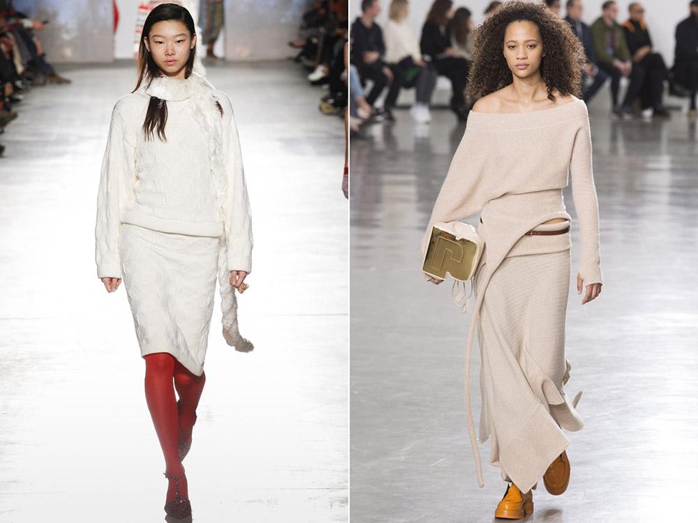 Осень-зима 2017-2018 модные тенденции вязание 96