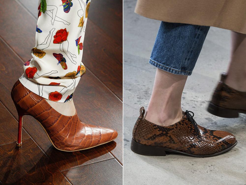 Мода Осень 2017 2018 Обувь