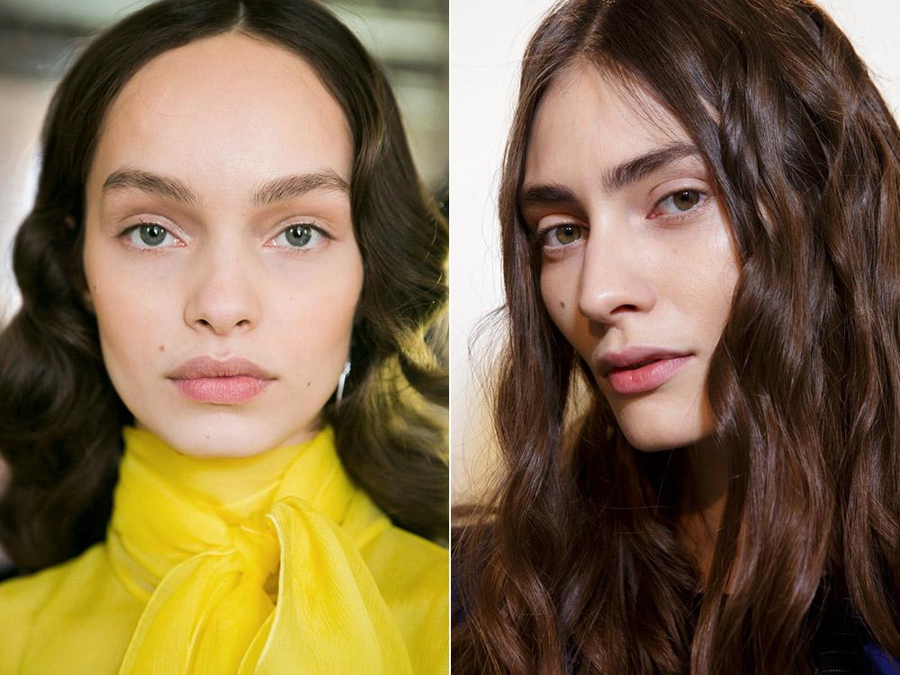Естественный макияж осень-зима 2017-2018