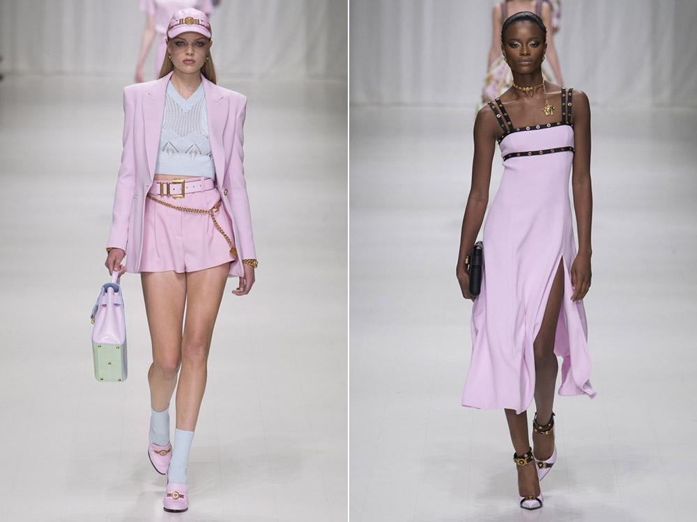 PinkLavender Versace