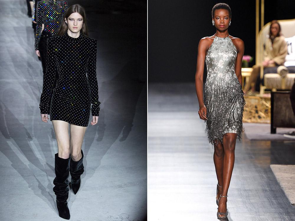 Платья в стиле ретро на Новый год 2018