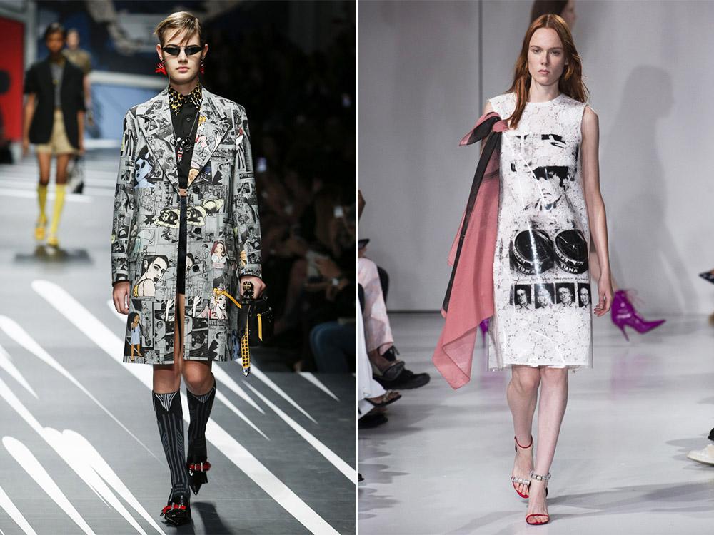 Модная одежда весна-лето 2018