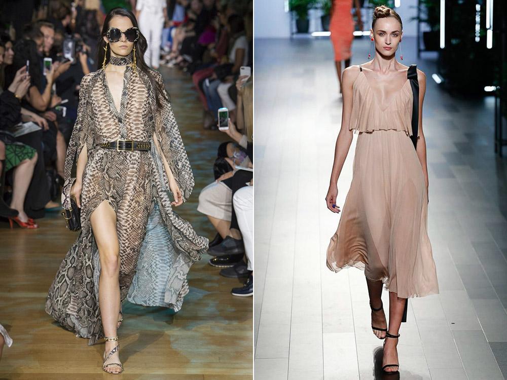 Летящие платья весна-лето 2018