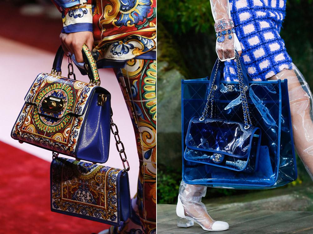 Несколько сумок весна-лето 2018
