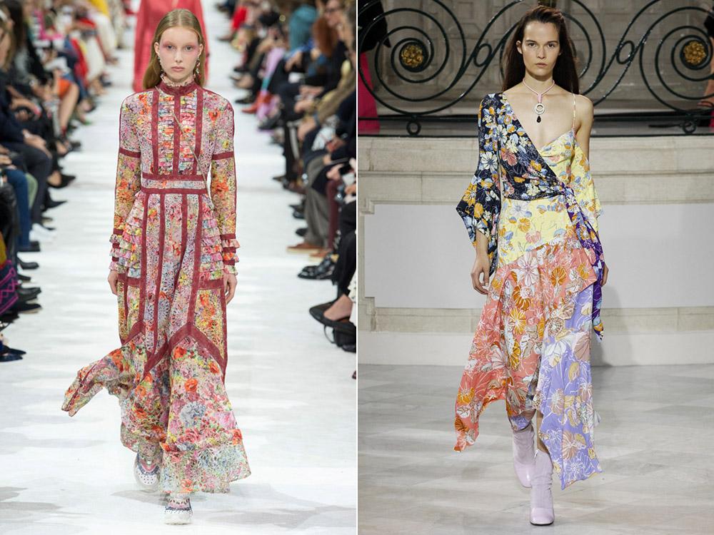 Платья в богемном стиле весна-лето 2018