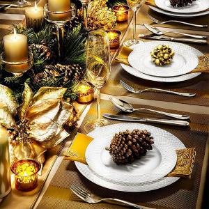 Как украсить стол на Новый год 2018