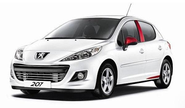 Маленькие машины для девушек Peugeot 207