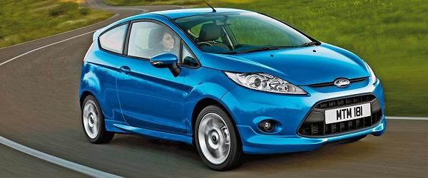 Маленькие машины для женщин Ford Fiesta