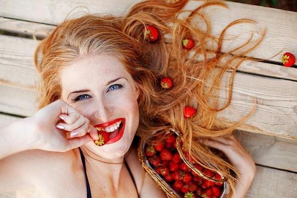 Увлажнение волос фруктами
