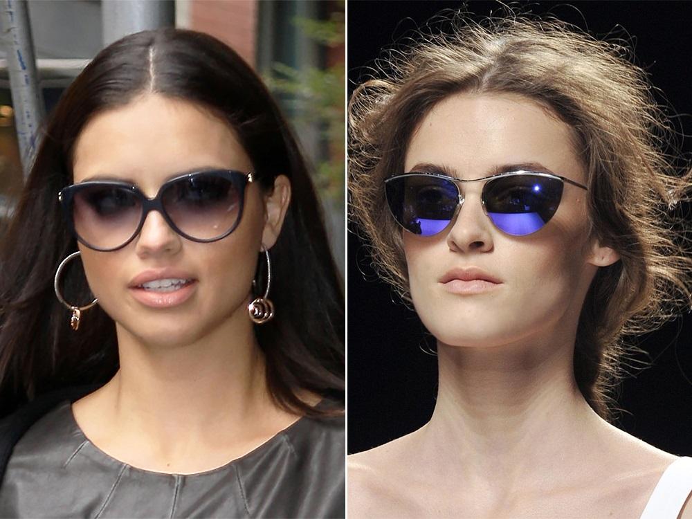 Солнцезащитные очки для узкого лица