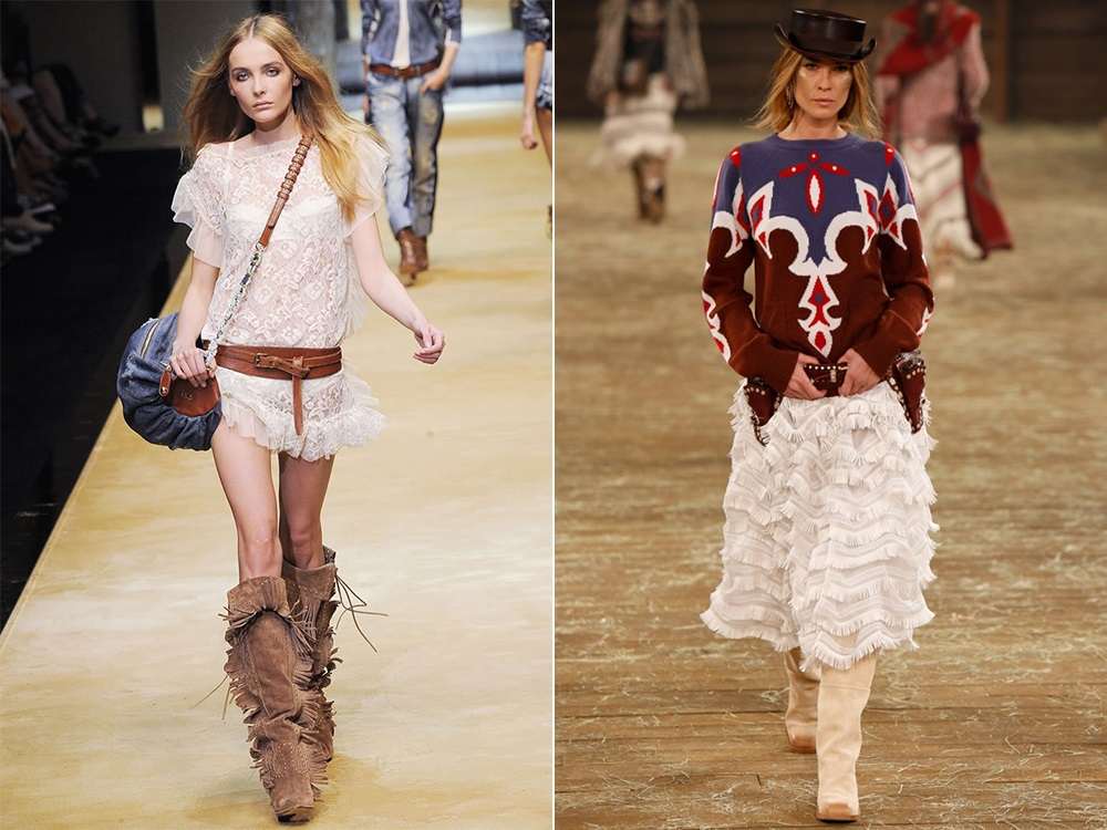 ab0dccb22207 Стиль кантри в одежде  образ авантюристки Дикого Запада