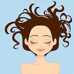 Мытье волос на ночь