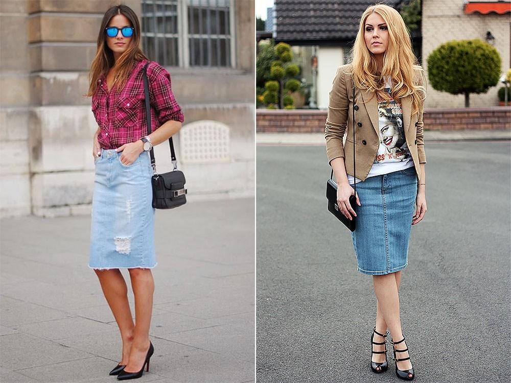 455d974feba С чем носить джинсовую юбку  модные луки на каждый день