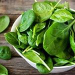 Овощи и зелень, содержащие железо