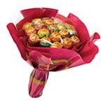 Сюрприз подруге - букет из конфет
