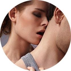 Эрогенная зона шея