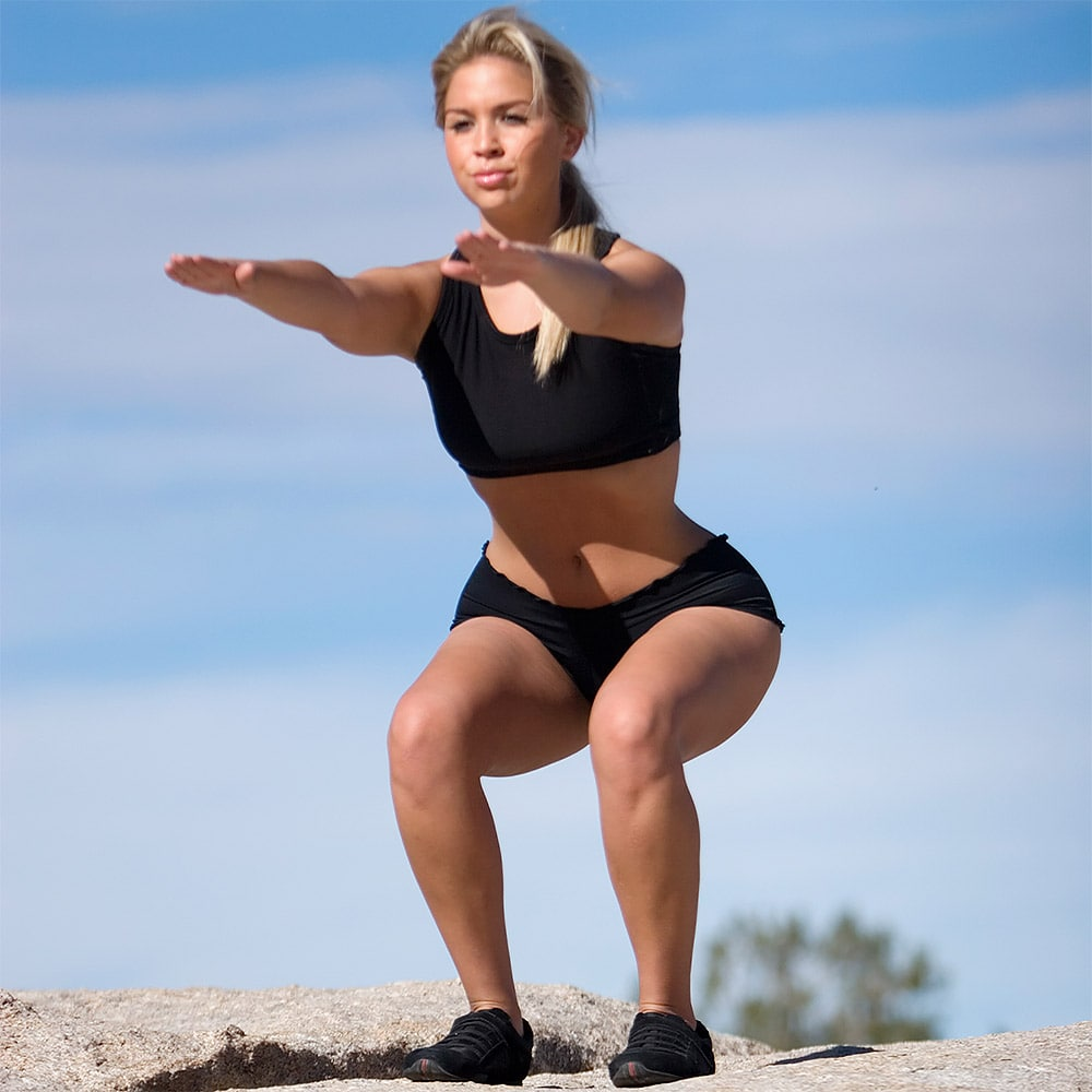 Упражнения для ног похудение